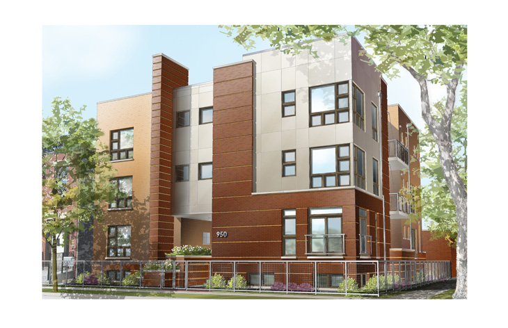 Multi-Family Walk-Up with 7 residential units